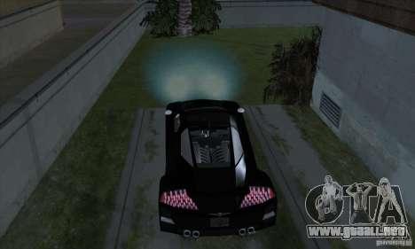 Faros de Xenon (faros de xenón) para GTA San Andreas quinta pantalla