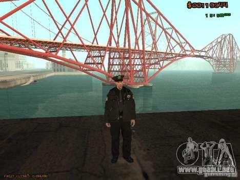 Sheriff Departament Skins Pack para GTA San Andreas segunda pantalla