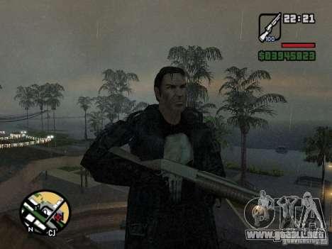 El castigador para GTA San Andreas