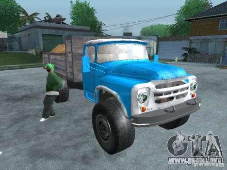 Camión ZIL 130 para la visión correcta GTA San Andreas