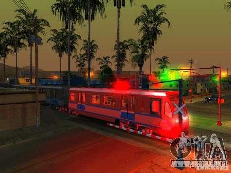 Nueva señal de tren para GTA San Andreas sexta pantalla