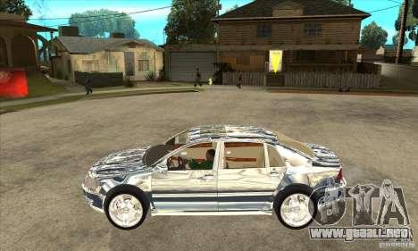 Cromado de Volkswagen Phaeton para GTA San Andreas left