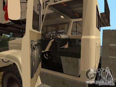 GAZ 3308 Sadko para la visión correcta GTA San Andreas