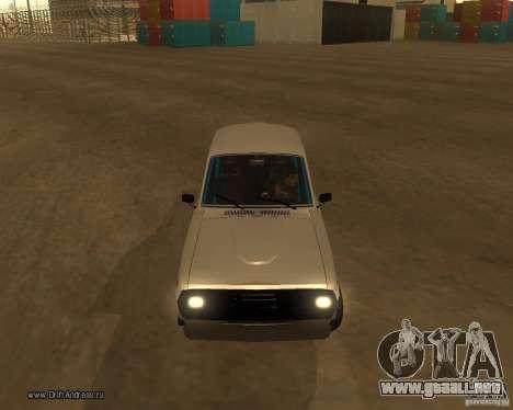 GAZ Volga 2410 Drift edición para la vista superior GTA San Andreas