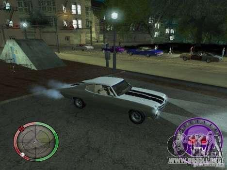 Skul Speedometer para GTA San Andreas sucesivamente de pantalla