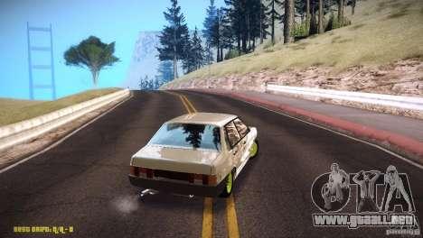 Vaz 21099 Hobo para la visión correcta GTA San Andreas