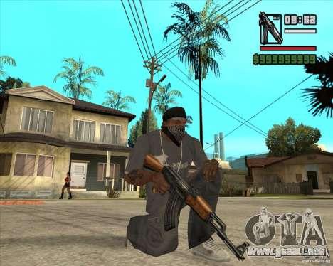Millenias Weapon Pack para GTA San Andreas quinta pantalla