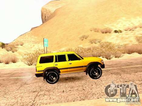 Toyota Land Cruiser 80 Off Road Rims para GTA San Andreas left
