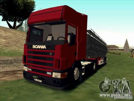 Scania 114L para GTA San Andreas left
