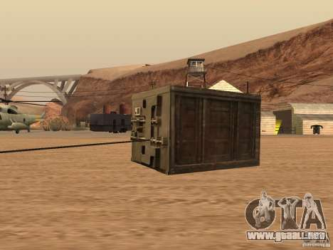 Safe from Fast Five para GTA San Andreas left