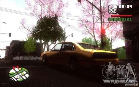 Spring Season para GTA San Andreas sexta pantalla