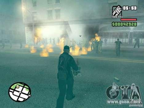 Zombie Alarm para GTA San Andreas