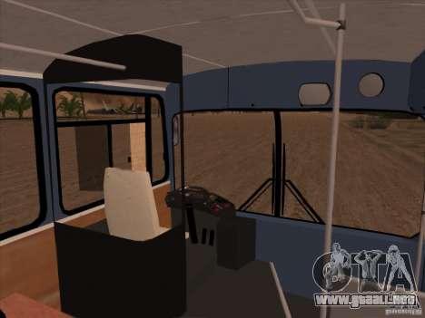 MAN SL200 Exclusive v.1.00 para GTA San Andreas interior
