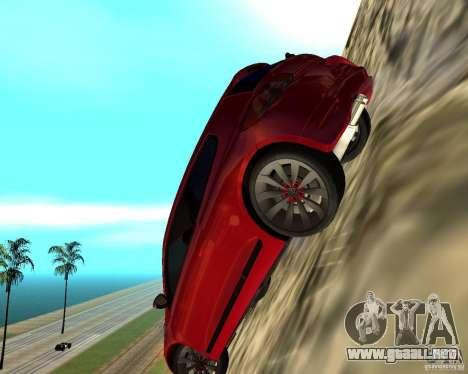 VW Scirocco III Custom Edition para GTA San Andreas vista hacia atrás