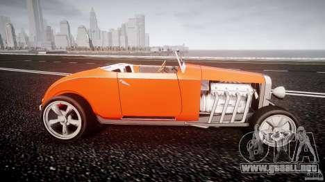 Hot Rod para GTA 4 vista interior