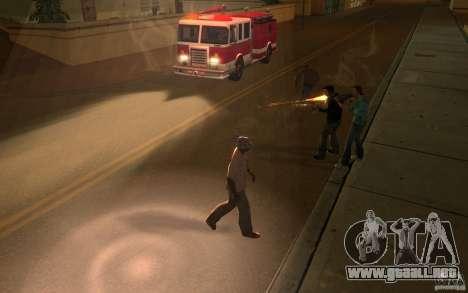 Brigada versión 2.0 para GTA San Andreas sucesivamente de pantalla