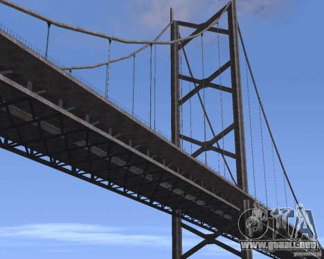 Nuevas texturas de tres puentes en SF para GTA San Andreas novena de pantalla