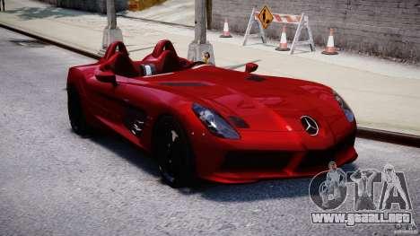 Mercedes-Benz SLR McLaren Stirling Moss [EPM] para GTA 4 vista hacia atrás
