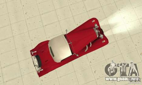 Mercedes-Benz 500K para la visión correcta GTA San Andreas
