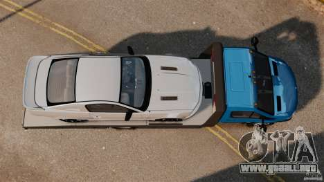 Mercedes-Benz Sprinter 3500 Car Transporter para GTA 4 visión correcta