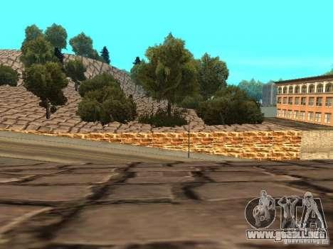Montaña de piedra para GTA San Andreas novena de pantalla