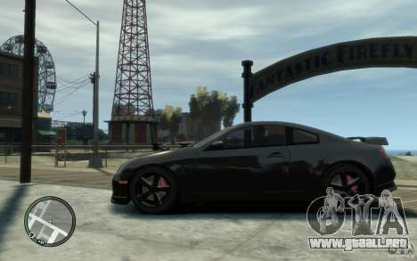 Nissan Skyline Coupe 350GT para GTA 4 left
