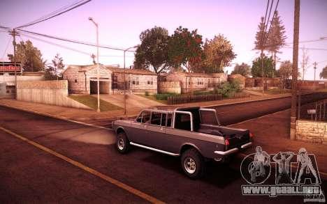 GAZ 2402 4 x 4 PickUp para la visión correcta GTA San Andreas
