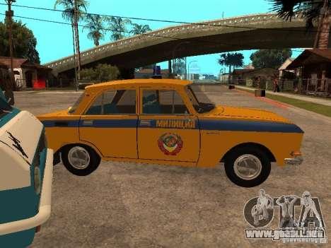 Versión temprana de la milicia AZLK 2140 para la visión correcta GTA San Andreas