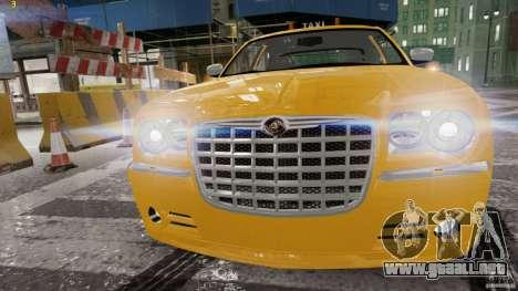 Chrysler 300c 3.5L TAXI FINAL para GTA 4 left