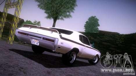 Buick GSX 1970 para la visión correcta GTA San Andreas