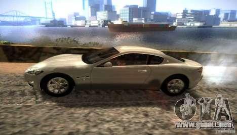 Graphic settings para GTA San Andreas quinta pantalla