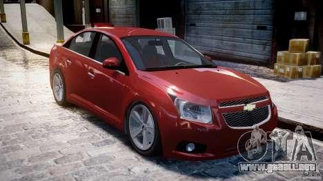 Chevrolet Cruze para GTA 4 left