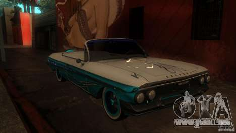 Chevy Impala SS 1961 para GTA San Andreas