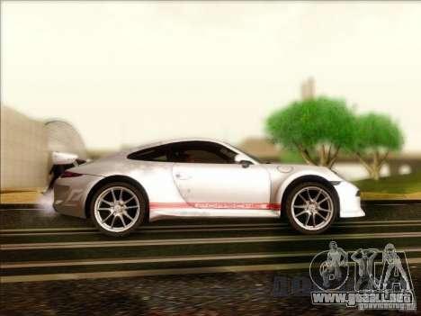 Porsche 911 Carrera S (991) Snowflake 2.0 para GTA San Andreas vista hacia atrás