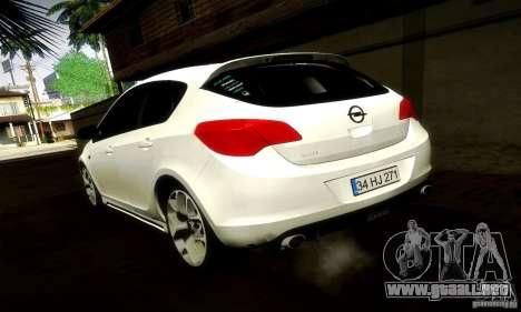 Opel Astra Senner para la visión correcta GTA San Andreas