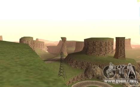 New desert para GTA San Andreas tercera pantalla