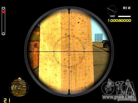 New AWP para GTA San Andreas tercera pantalla