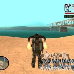 El Agua De Forma Predeterminada Para GTA San Andreas Sucesivamente De
