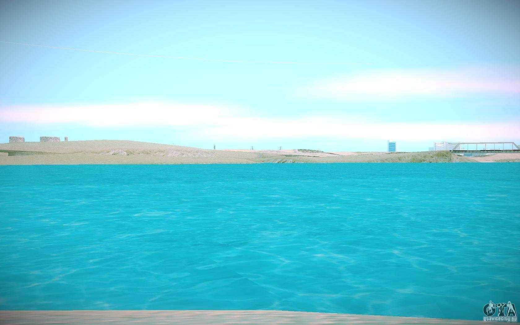 Agua HD para GTA San A...