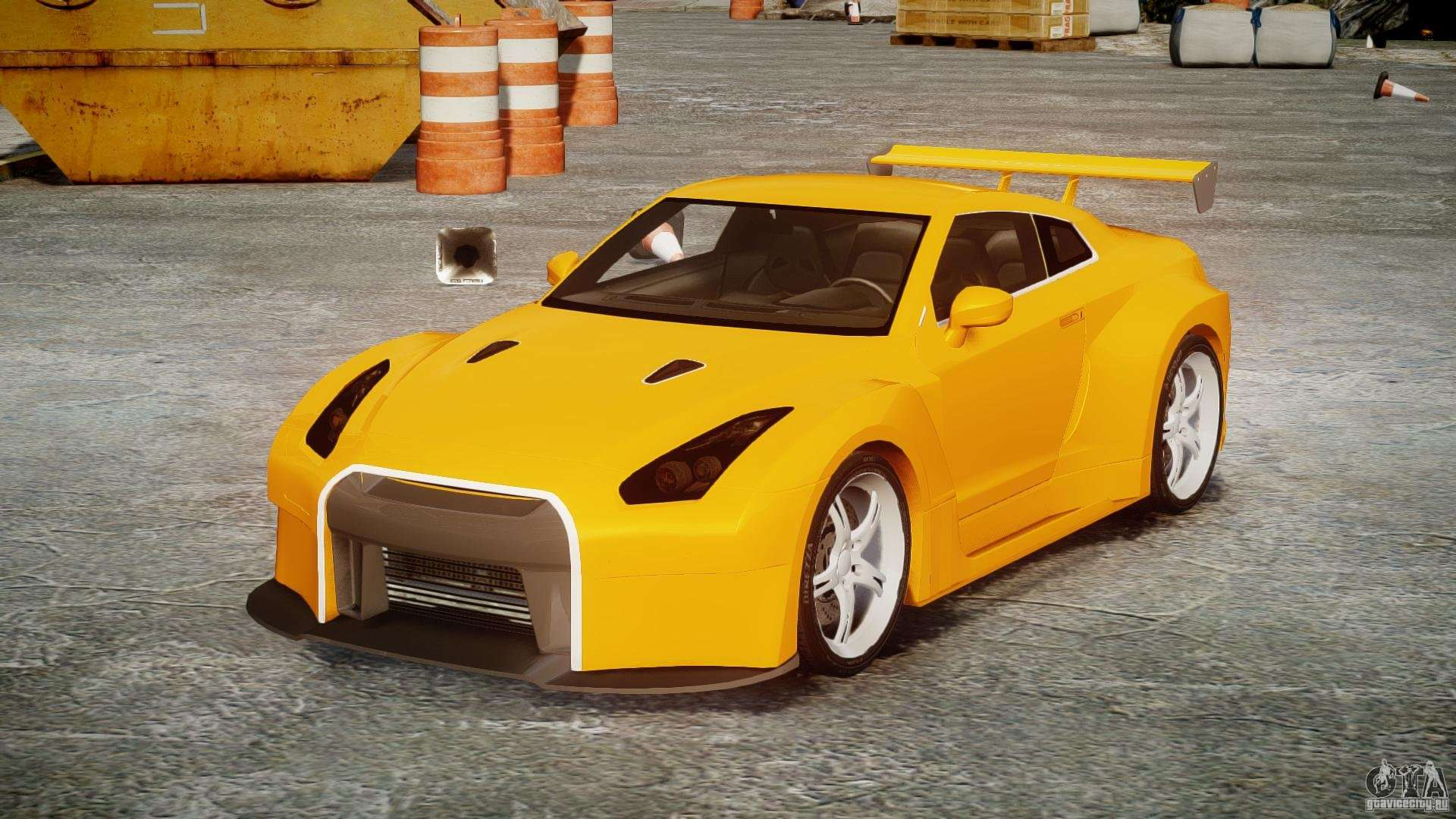 nissan skyline r35 gtr para gta 4. Black Bedroom Furniture Sets. Home Design Ideas