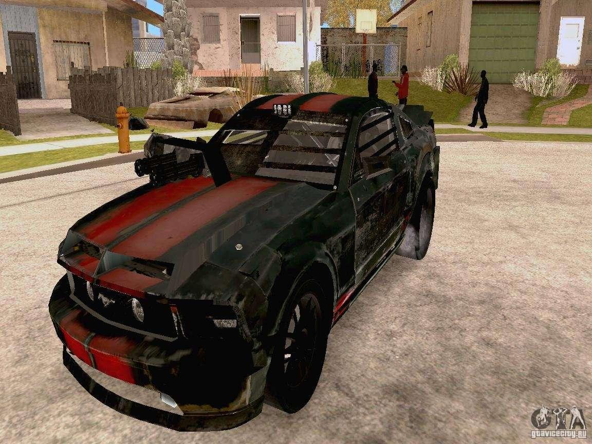 Ford Mustang Death Race Para Gta San Andreas