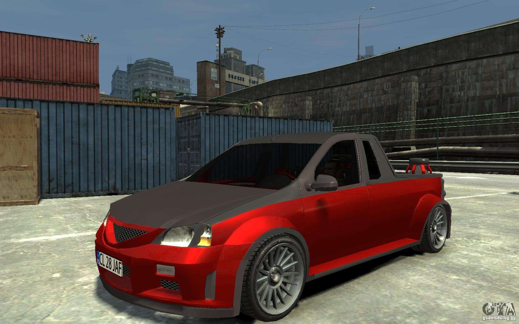 dacia pick up tuning para gta 4. Black Bedroom Furniture Sets. Home Design Ideas