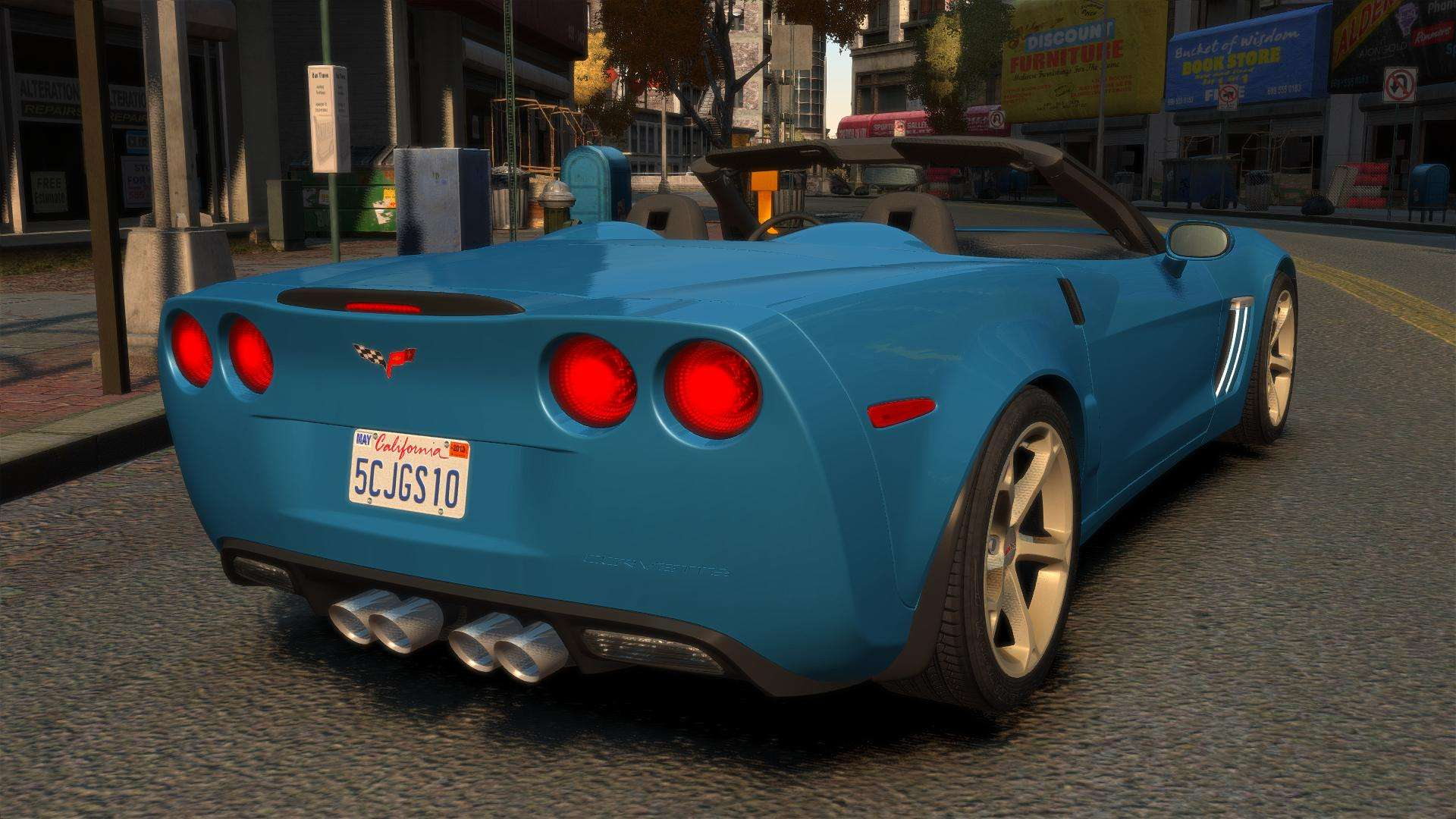 Chevrolet Corvette C6 2010 Convertible v2.0 para GTA 4