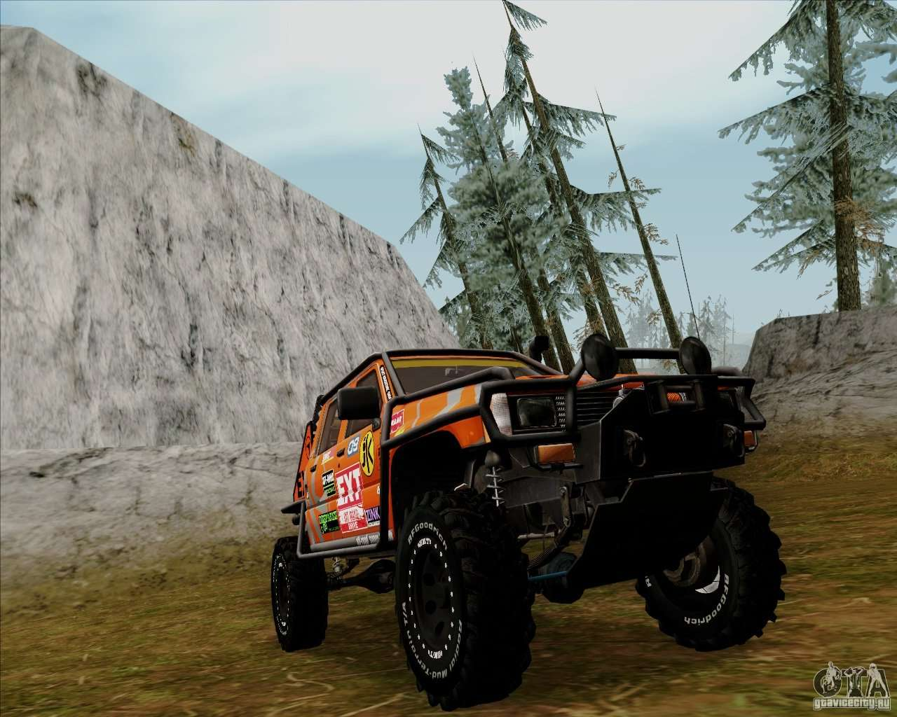 nissan navara off road para gta san andreas. Black Bedroom Furniture Sets. Home Design Ideas