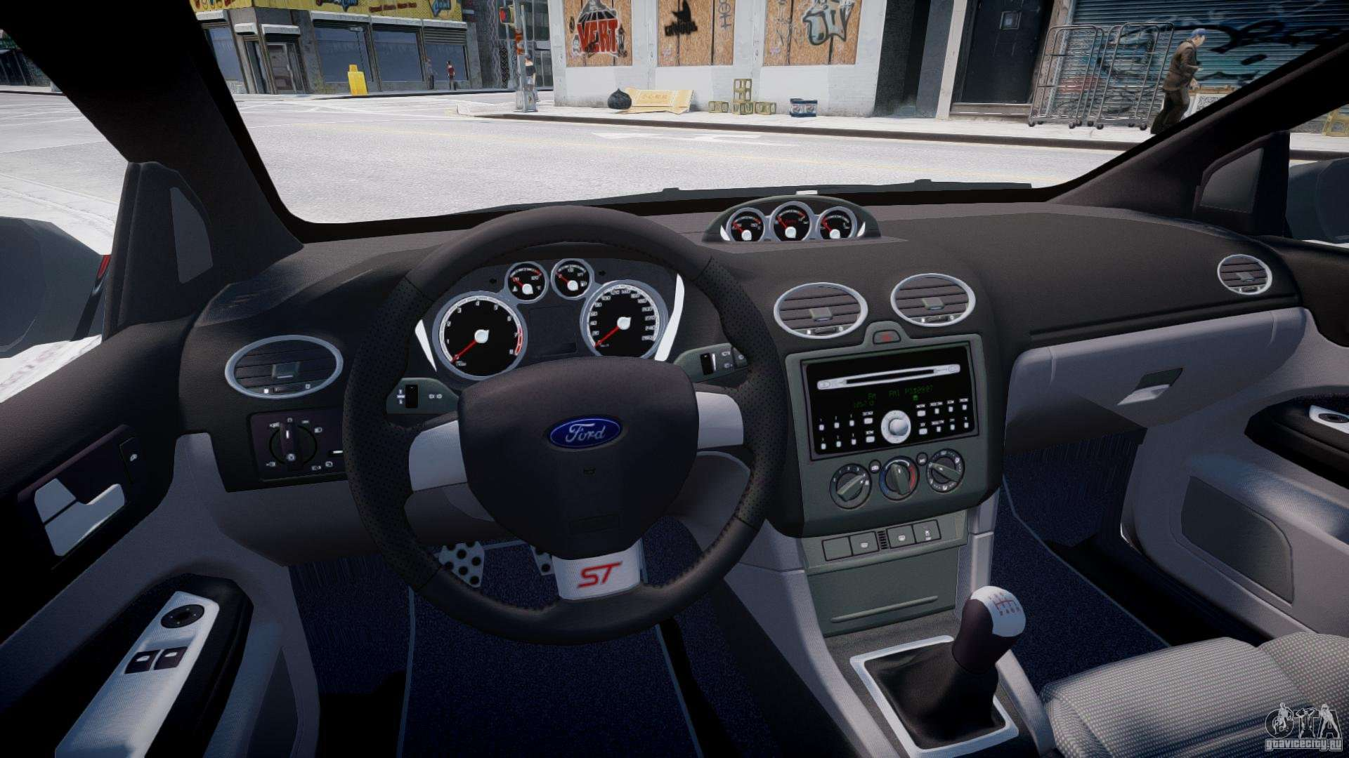 Ford Focus St X Tuning Para Gta 4