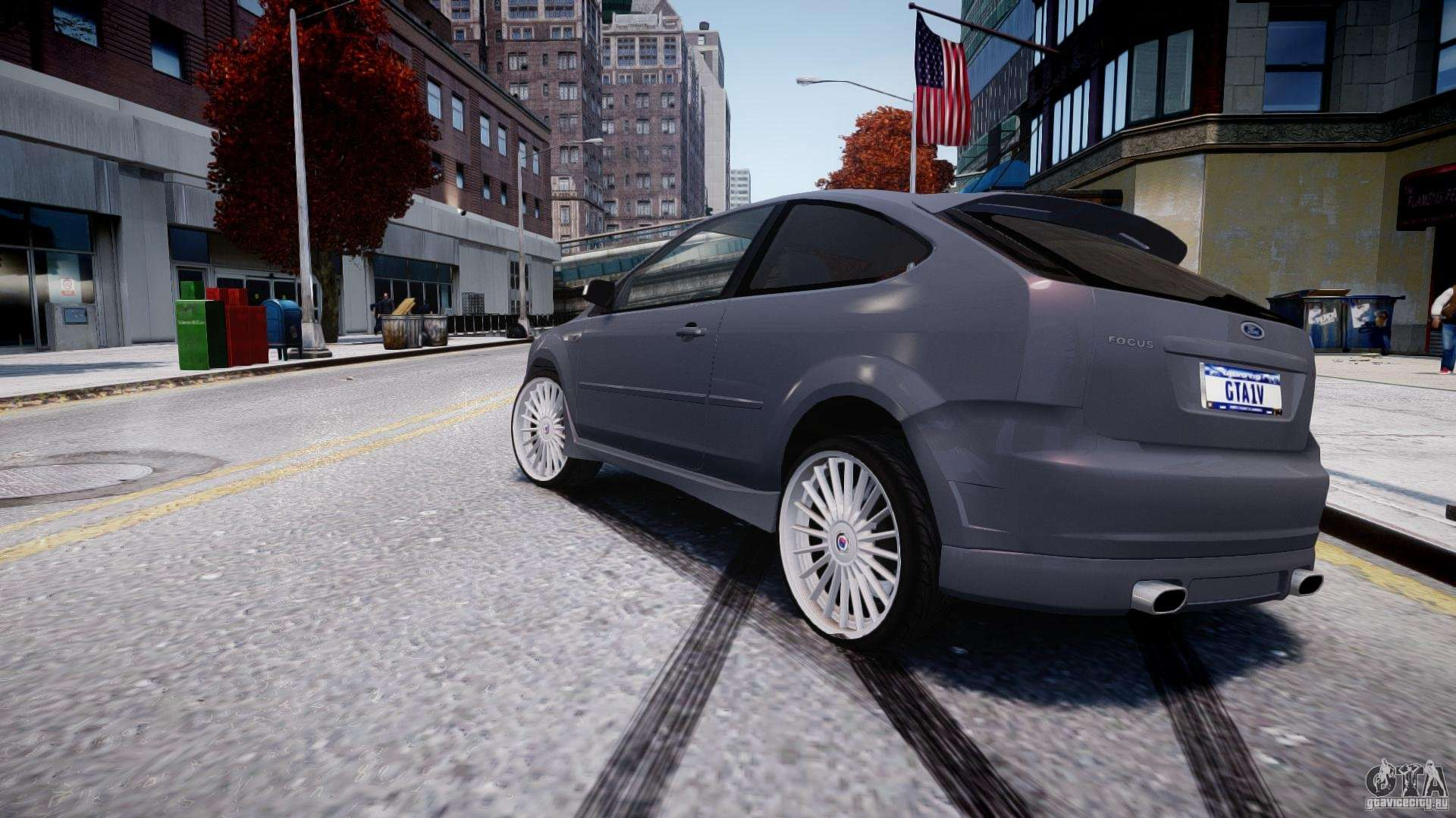 ford focus st x tuning para gta 4. Black Bedroom Furniture Sets. Home Design Ideas
