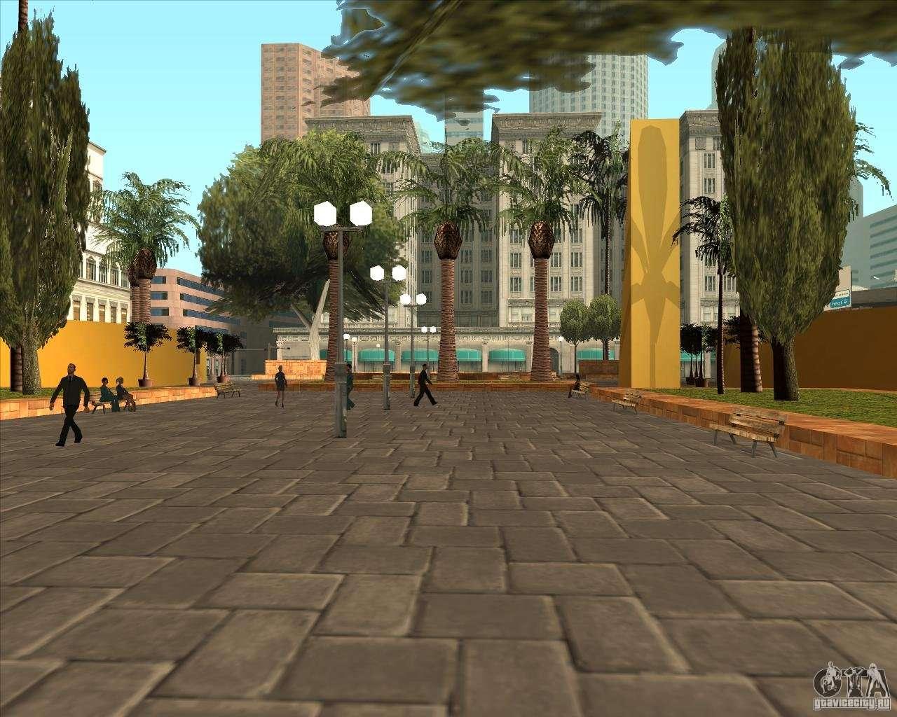 El Nuevo Parque Central De Los Santos Para Gta San Andreas