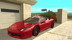 Ferrari 458 Italia Hamann para GTA San Andreas