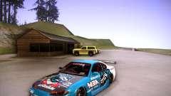 Nissan Silvia S15 Blue Tiger para GTA San Andreas
