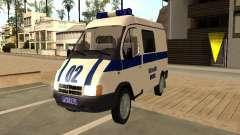 GAZ Sobol 2217 policía para GTA San Andreas